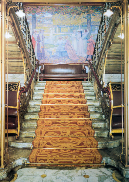 Hôtel Solvay (Escalier principal)