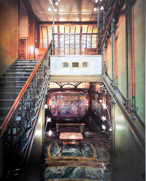 Hôtel Solvay (vers le jardin d'hiver)