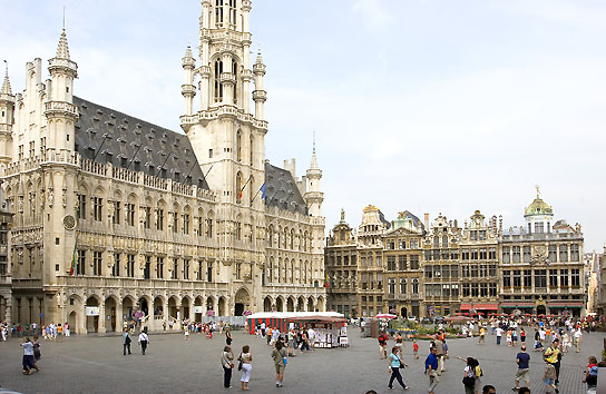 Bruxelles en touriste - Office de tourisme bruxelles grand place ...
