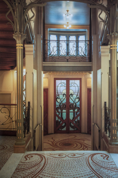 Hôtel Tassel entrée