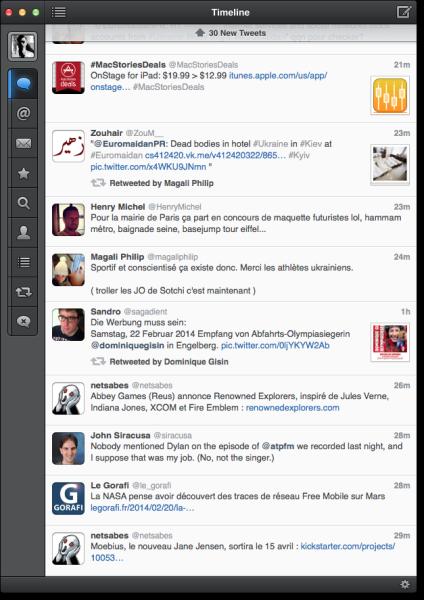 Tweetbot pour iPad