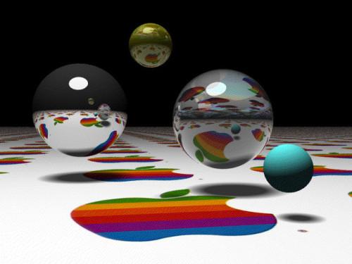 5_MacII_Spheres_Desktop_1987