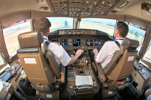 B777 Cockpit