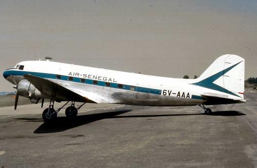 C47 Air Senegal 6V-AAA