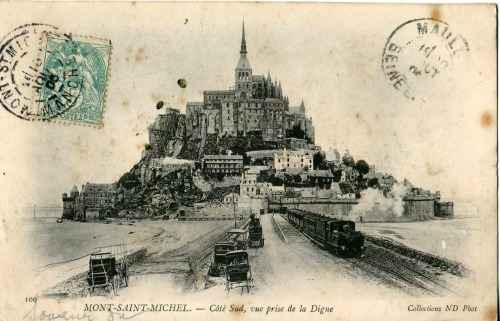 2Carte Postale Chemin de Fer