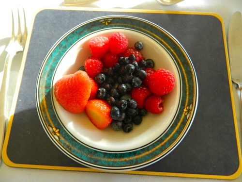 Assiette de fruits Breakfast