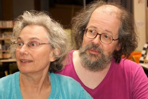 Ellen Herzfeld et Dominique Martel