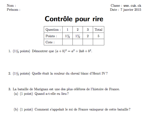 exam_complet