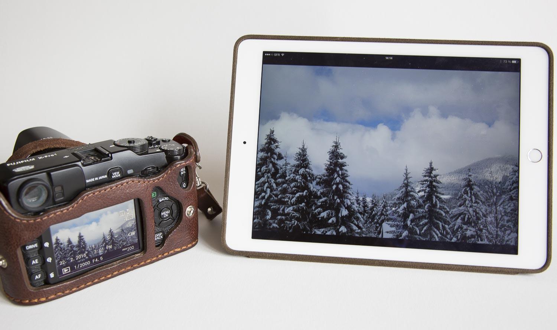 Fuji+iPad