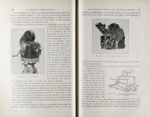 et le descriptif précis du mécanisme permettant l'entrainement du film à 180 images par secondes !