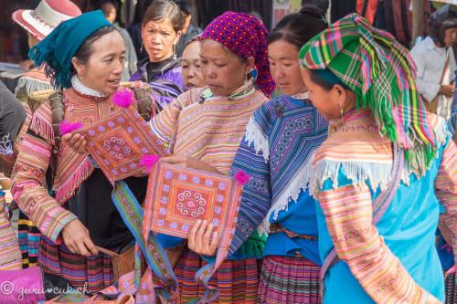 Hmongs Fleur (ou Bariolé)