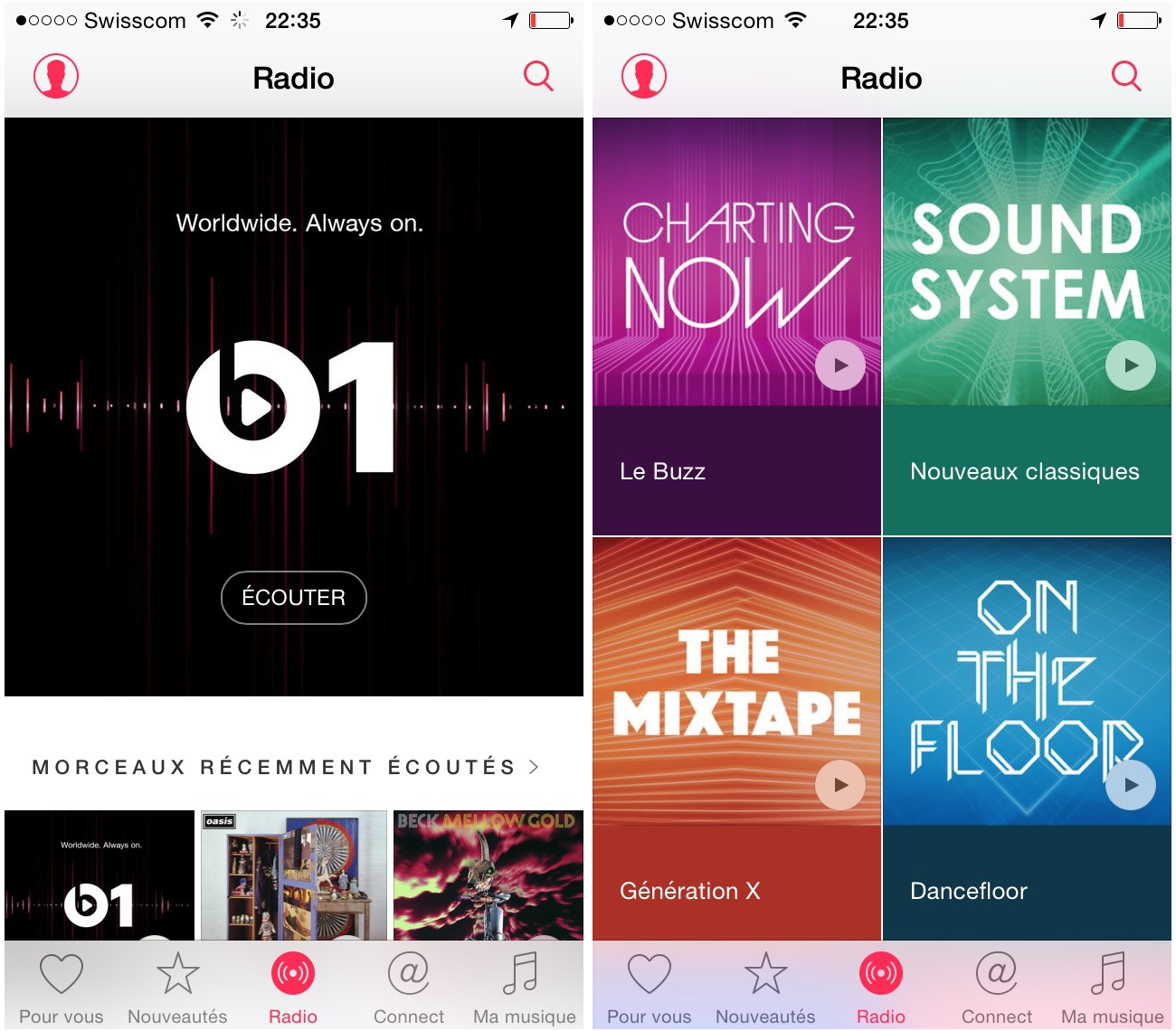 Apple music mon avis apr s 2 semaines d utilisation for Menu pour un soir entre amis