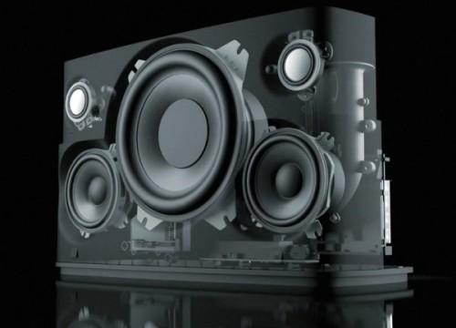L'intérieur de l'A7, que des produits audiophile !
