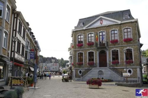 Le centre de La Roche-en-Ardenne.
