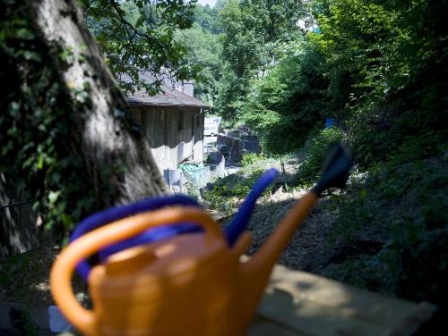 Arrosoirs jardin Vallon