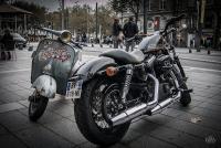 2_Vespa & Harley